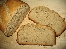 Chléb s burákovým máslem
