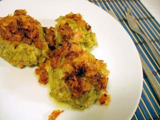 Brokolicové knedlíčky s uzeninou v parním hrnci