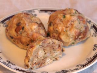 Houbové-slaninové knedlíky