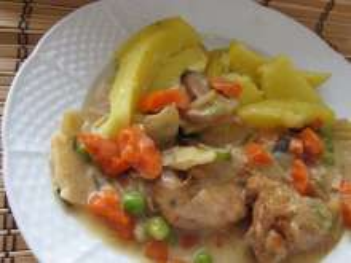 Marinované kuřecí maso s asijskou zeleninou