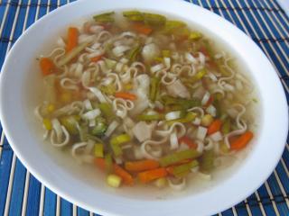 Jarní čínská polévka