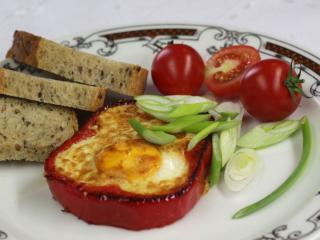 Vajíčka v paprice
