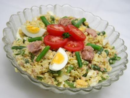 Rýžový salát s tuňákem