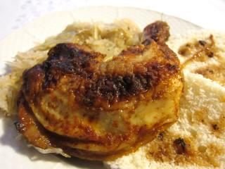 Medovo-zázvorová kuřecí stehna