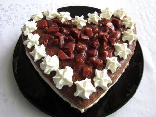 Jemný tvarohový dort