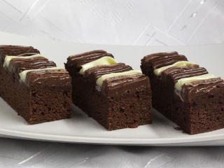 Krémové kakaové řezy