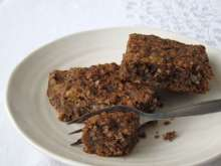 Cizrnové čoko-oříškové brownies