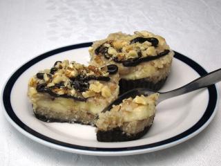 Raw kokosovo-ořechové dortíčky