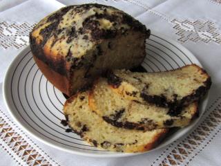 Hrnkový koláč z domácí pekárny