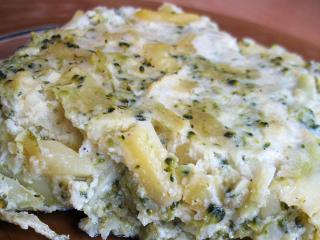 Brokolicovo-bramborový nákyp