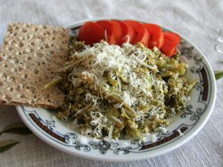 Brokolice s vejcem