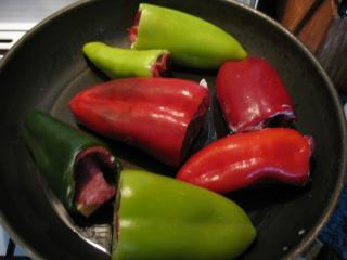 Opečení paprik
