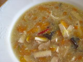 Mrkvová ostro-kyselá polévka