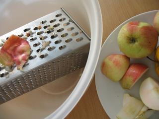 Příprava jablek