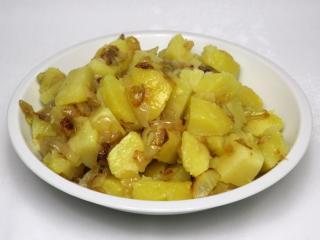Cibulové brambory