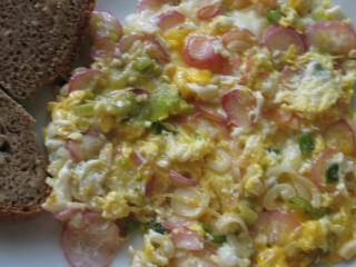 Jarní míchaná vajíčka
