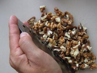 Příprava ořechů