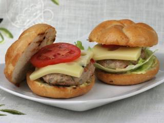 Vepřové hamburgery