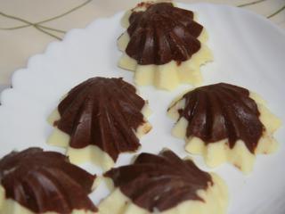 Dvoubarevná čokoláda