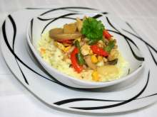 Barevné masovo-zeleninové soté