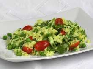 Rýžový salát s hráškem