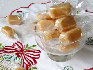 Medové karamelové bonbóny