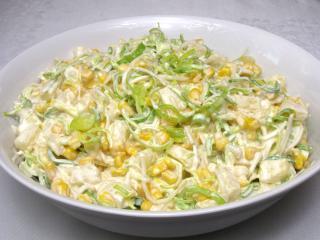 Celerový fit salát