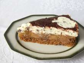 Nepečený jablkový dort s mascarpone