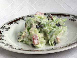 Salát se zázvorem