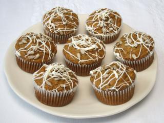Datlové muffiny