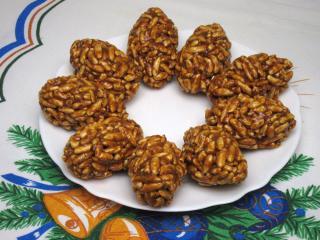 Karamelovo-ořechové šišky