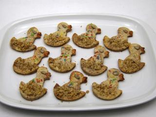 Skořicové velikonoční sušenky