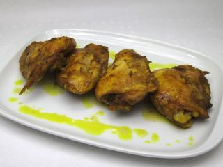Kuřecí maso na kurkumě