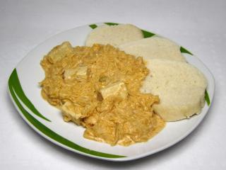 Tofu s kysaným zelím