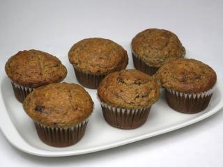 Špaldovo-banánové muffiny