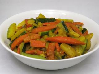 Zeleninové sabdží s cuketou