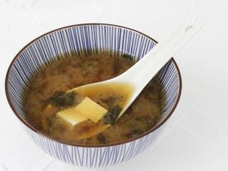 Miso polévka s tofu