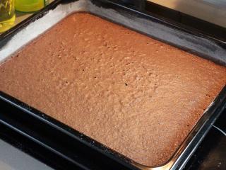 Piškotové kakaové těsto