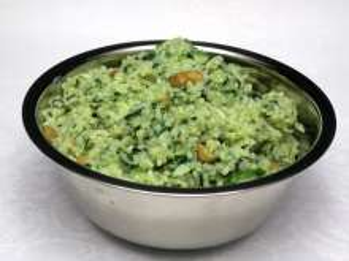 Špenátová rýže