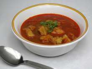 Rybí zeleninová polévka