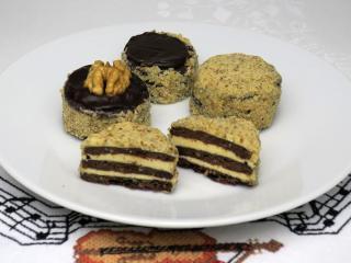 Ořechové máslové dortíčky - drdoletky
