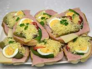 Klasické obložené chlebíčky