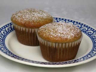 Muffiny z podmáslí se švestkovými povidly