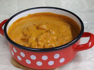 Indické máslové kuře