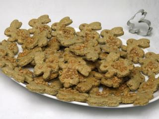 Celozrnné velikonoční sušenky