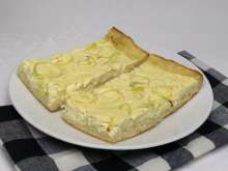 Slaný sýrový koláč s pórkem