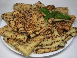 Bramborové palačinky s bazalkou