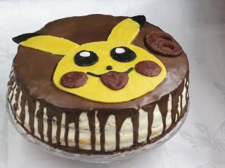 Dekorace na dort Pikachu