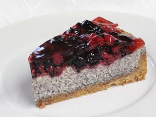 Makový cheesecake s mascarpone