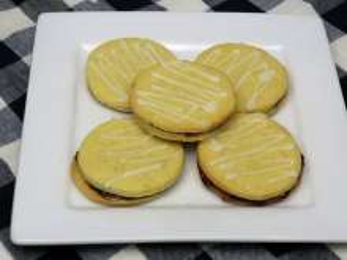 Citronová lepená kolečka